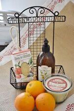 Comptoir de Famille, Halter für Spülbürste und Seife aus Metall