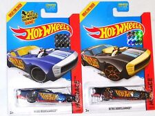 2014 HOT WHEELS RLC FACTORY SET RACE NITRO DOORSLAMMER X2 BOTH COLORS