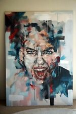'Scream' - Acryllic on canvas by Emily Woods - Large Painting -Modern / Abstract