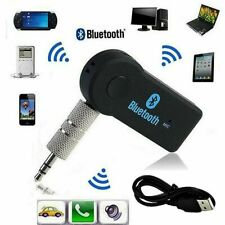 Wireless Bluetooth 3.5mm Phone To AUX Car Stereo Music Receiver Adapter Device