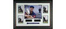Payne Stewart US Open PGA Engraved Signature 22x33  5-photo Leather Framed  WWJD