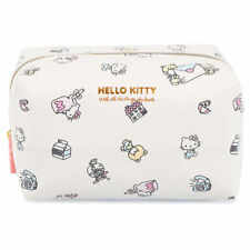 SANRIO HELLO KITTY LARGE CAPACITY MAKEUP COSMETIC BAG SWEET WORLD 15140A