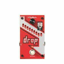 DigiTech drop Polyphonic Drop Tune Pedal for Guitars 240V/9V DC - (0691991202902)
