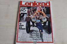164446) Opel Manta A + VW K 70 TEST - Lenkrad 06/1970