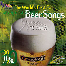 >> THE WORLDS BEST EVER BEER SONGS - VOL.1,2 & 3 / VAR ART - 3 DOUBLE CD SETS