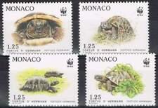 Monaco postfris 1991 MNH 2046-2049 - WWF / Schildpad / Turtle