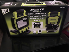 Unilite Rechargeable Led Site light with powerbank with magnetic feet!