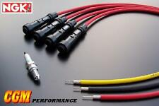 Honda CB650 Spark Plug Wires Cables, DOHC Red CB 650 Nighthawk