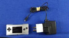 Gameboy MICRO Console SILVER Game Boy Nintendo PAL