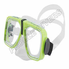 Scuba Max Navigator Mask scuba snorkel New 2 lens Silicone mask large skirt