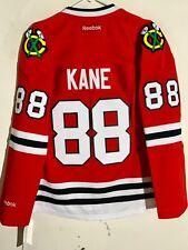 Reebok Women's Premier NHL Jersey Chicago Blackhawks Patrick Kane Red sz L