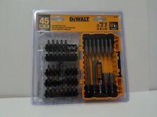 45 Piece Magnetic Screwdriver Bit Set Drill Drive Bits Accessories Impact Dewalt