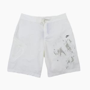 Nike Y2K Mens Lightweight Cotton Nylon Board Swim Shorts Waist 36 - 38 BNWT New