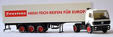 Mercedes Benz SK Ko-SZ Firestone High Tech Reifen für Europa 1:87 Herpa Exclusiv
