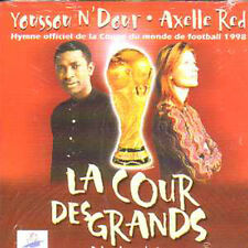 Axelle RED & Youssou n dour  CD single La cour des grands