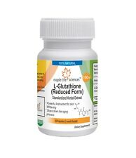 L-GLUTATHIONE Reduced Capsules 99% pure Skin Whitening Antioxidant Detox