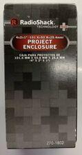 """RadioShack Project Enclosure Box 4""""x2""""x1"""" (101.6x50.8x25.4mm) 270-1802 2701802"""