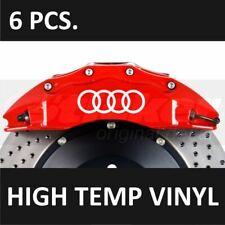 AUDI Premium Brake Caliper Decals Stickers Emblem Logo TT RS S3 S4 S5 Q5 R8