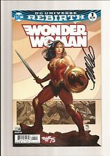 WONDER WOMAN #1 NM- 9.2 (FRANK CHO VARIANT) REBIRTH *SIGNED BY FRANK CHO* 2016