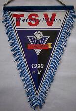 Orig.Wimpel  TSV WEFENSLEBEN  //  29 cm - mit Metallstange und Kette  !!  SELTEN