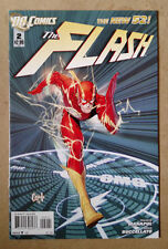 FLASH #2 1ST PRINT - GREG CAPULLO  VARIANT COVER DC COMICS NEW 52 (2011)