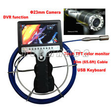 Pipeline Pipe Drain Inspection Camera System Industrial Endoscope DVR function