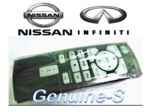 Genuine OEM infiniti Car Rear DVD Entertainment Remote Control Part#  282991MA0A