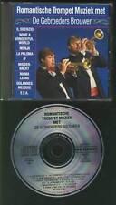 DE GEBROEDERS BROUWER Romantische Trompet Muziek  CD TRUMPET DURECO HOLLAND