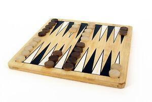 Gioco in legno: Backgammon in bamboo