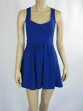 T by Bettina Liano Ladies Fashion Sleeveless Mini Dress sizes 6 8 Colour Blue