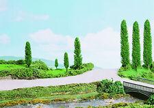 K & M - P200 - 12 x 25mm Poplar Trees Green New Multi-Pack - Free 1st Class Post