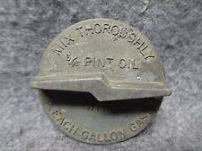 Vintage Homelite ZIP Chain Saw Lightning Bolt Fuel Filler Gas Cap Original