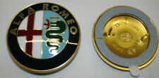 ALFA ROMEO Metal enamel emblem 75 mm. diameter