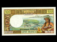 New Caledonia:P-63b,100 Francs,1973 * NOUMEA *
