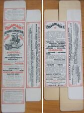 Large c1900 Asthma Conqueror - Knight on Horse Drug/Pharmacy Box