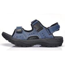 Mens Summer Outdoor Leather Sandals Sport Open Toe Fisherman Sandals Popular Top