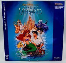 Walt Disney Classic The Little Mermaid LaserDisc Stereo Digital Sound