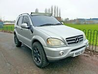 ML55 AMG 2001 OFF ROAD 4X4 LIFTED MONSTER TRUCK V8