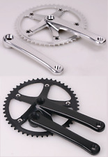 J&L 70S Classic/Vintage Fixed Gear Crankset/Crank Set-Single Speed,Fixie,Track