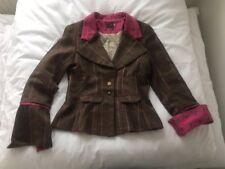 Timothy Foxx Tweed Blazer Jacket Ladies Size 12 Preppy