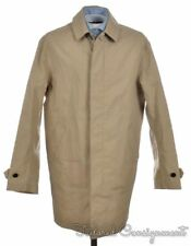 NWT - $698 COACH Stone Beige Light Cotton Hudson Car Coat Jacket 84416 - SMALL