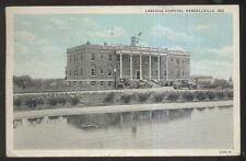 Postcard KENDALLVILLE Indiana/IN  Lakeside Hospital Building 1920's
