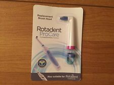 Rotadent ProCare Replacement Brush Head Long Tip P/N 9290L L/N 607055