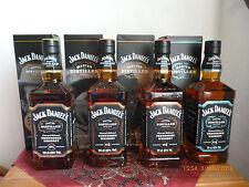 4 Jack Daniels-Master Distiller Serie , 1+2+3+4  je 700ml,  43% Vol. Alc.