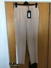 M&S Limited Edition Beige Trousers with White Stripe New ith Tags