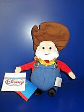 "HTF Rare Disney Store Toy Story 2 Prospector Stinky Pete Plush Bean Bag Doll 8"""