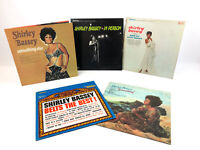 Lot of 5 Shirley Bassey Belts the Best High Definition Stereo Vinyl Record LPs