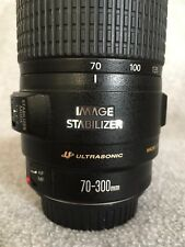 Canon EF 70-300mm f/4-5.6 IS USM Lens - used, EXCELLENT condition