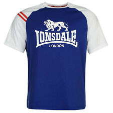 Lonsdale London LL Roglan Logo Löwe T-Shirt Herren S M L XL 2XL 3XL Tee neu