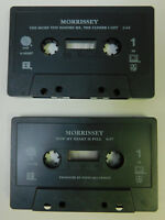 Morrissey - Lot of 2 Cassette Singles - The More You Ignore Me - Now My Heart Is